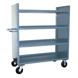 Jamco 2 Sided Solid Truck DD248 with 4 Shelves 24 x 48