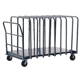 Jamco Adjustable Divider Truck with 12 Dividers DG272 - 24 x 72