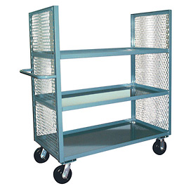 Jamco 2 Sided Mesh Truck EC372 with 3 Shelves 30 x 72