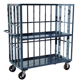 Jamco 3 Sided Slat Truck HZ360 30 x 60 1 Adjustable & 1 Fixed Shelf