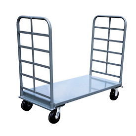 Jamco Twin Handle Platform Truck PS248 - 24 x 48 - 2000 Lb. Capacity