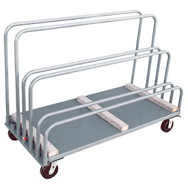 Jamco Adjustable Sheet and Panel Truck with Carpeted Rails TE348 30 x 48