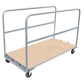 Jamco Removable Divider Sheet and Panel Truck with Wood Cap TU472 36 x 72