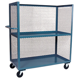 Jamco 3 Sided Mesh Truck ZB448 36 x 48 with 2 Shelves