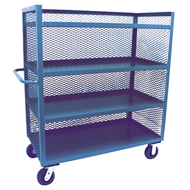 Jamco 3 Sided Mesh Truck ZD248 24 x 48 with 4 Shelves