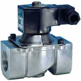 "Jefferson Valves, 1 1/2"" 2 Way Solenoid Valve For Fuel Gas And Other Gases 24V AC"