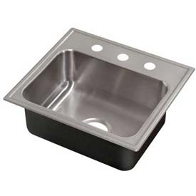 Sinks washfountains kitchen sinks just mfg single for Just ss sinks