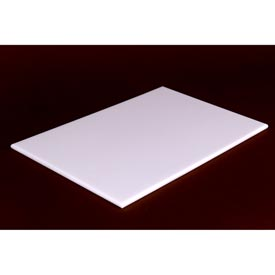 Reversible White Poly Cutting Board 6X8