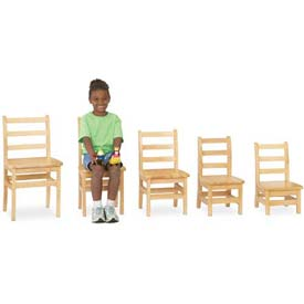 "Jonti-Craft® KYDZ Ladderback Chair - Set of 2 - 12"" Height"