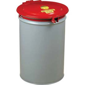 Justrite® 26753 Self-Latching 55 Gallon Drum Lid with Vent and Gasket