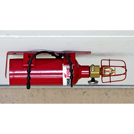 Justrite Fire Protection, Basic, FE-227 Extinguisher Unit 915403 - 4to16 Drum Chemical Storage Bldgs