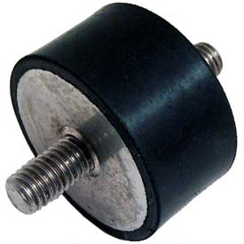 """J.W. Winco, Vibration Isolation Mounts Cylindrical Type, 1.00"""", 183 Max Load by"""