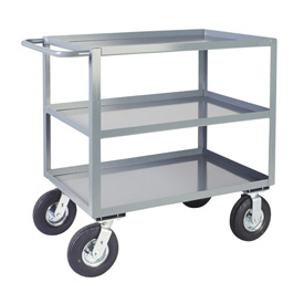 Jamco 3 Shelf Vibration Reduction Cart LH248 1200 Lb. Capacity 24 x 48