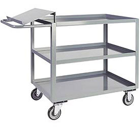 Jamco 3 Shelf Order Picking Cart LO272 1200 Lb. Capacity 24 x 72