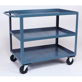 Jamco 3 Shelf Service Cart SC372 1200 Lb. Capacity 30 x 72 by