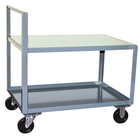 Jamco Straight Handle Low Profile Cart SH448 1200 Lb. Capacity 36 x 48