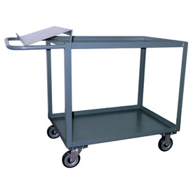 Jamco 2 Shelf Order Picking Cart SO448 1200 Lb. Capacity 36 x 48