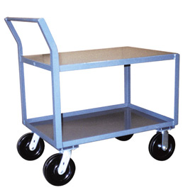 Jamco Offset Handle Low Profile Cart SW448 2400 Lb. Capacity 36 x 48