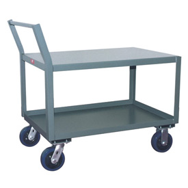 Jamco Offset Handle Low Profile Cart SX472 2400 Lb. Capacity 36 x 72