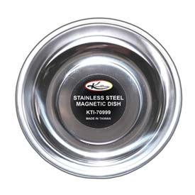 "Magnetic Parts Dish Stainless Steel 5-1/4"" Diameter by"