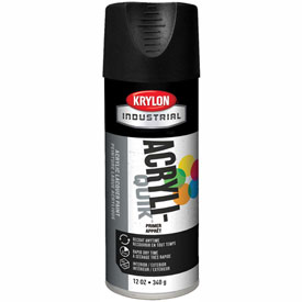 Krylon (5-Ball) Interior-Exterior Charcoal Black Primer - K01316A07 - Pkg Qty 6