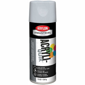 Krylon (5-Ball) Interior-Exterior Paint Flat White - K01502A07 - Pkg Qty 6