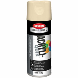 Krylon (5-Ball) Interior-Exterior Paint Almond - K01506A07 - Pkg Qty 6