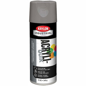 Krylon (5-Ball) Interior-Exterior Paint Smoke Gray - K01608 - Pkg Qty 6