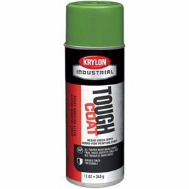 Krylon Industrial Tough Coat Rebar Green Epoxy - K01732007 - Pkg Qty 12