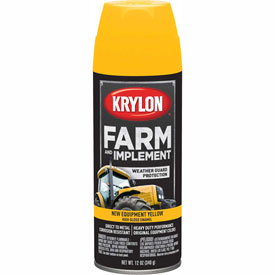 Krylon Farm And Implement Paint New Cat Yellow - K01944000 - Pkg Qty 6