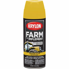 Krylon Farm And Implement Paint John Deere Yellow - K01934000 - Pkg Qty 6