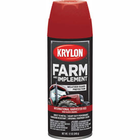 Krylon Farm And Implement Paint Int'L Harvester Red - K01933000 - Pkg Qty 6