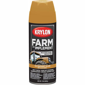Krylon Farm And Implement Paint Old Cat Yellow - K01953000 - Pkg Qty 6