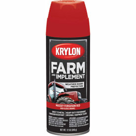 Krylon Farm And Implement Paint Massey Ferguson Red - K01939000 - Pkg Qty 6