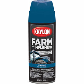 Krylon Farm And Implement Paint Ford Blue - K01936000 - Pkg Qty 6