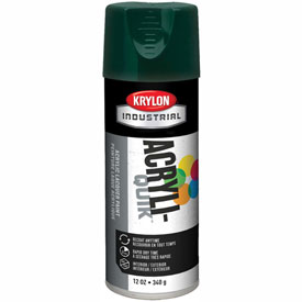 Krylon (5-Ball) Interior-Exterior Paint Hunter Green - K02001A07 - Pkg Qty 6