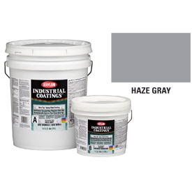 Krylon Industrial Dura-Top Epoxy Floor Coating Haze Gray Part A - K05400105-30 - Pkg Qty 2