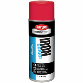 Krylon Industrial Iron Guard Latex Spray Paint Cherry Red - K07901000 - Pkg Qty 12