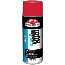 Krylon Industrial Iron Guard Latex Spray Paint Osha Red - K07902 - Pkg Qty 12