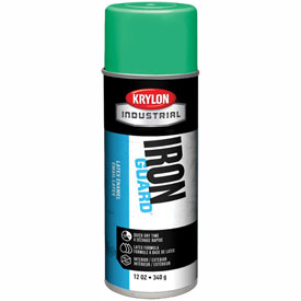 Krylon Industrial Iron Guard Latex Spray Paint Osha Green - K07905 - Pkg Qty 12