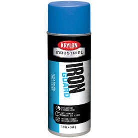 Krylon Industrial Iron Guard Latex Spray Paint Osha Blue - K07907 - Pkg Qty 12