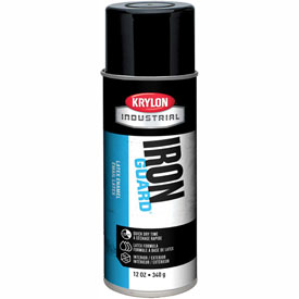 Krylon Industrial Iron Guard Latex Spray Paint Gloss Black - K07908000 - Pkg Qty 12