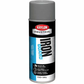 Krylon Industrial Iron Guard Latex Spray Paint Satin Gray - K07914 - Pkg Qty 12