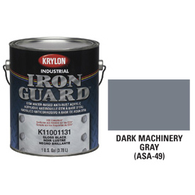 Krylon Industrial Iron Guard Acrylic Enamel Dk Machinery Gray (Asa-49) - K11006631 - Pkg Qty 4