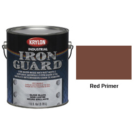 Krylon Industrial Iron Guard Acrylic Enamel Red Primer - K11006951 - Pkg Qty 4