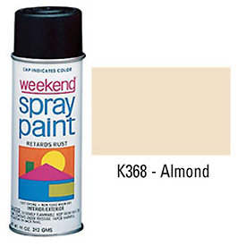 Krylon Industrial Weekend Economy Paint Almond - K368 - Pkg Qty 6