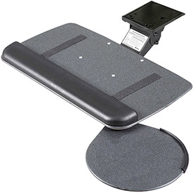 Buy RightAngle JVS17/S Myriad Jr. Keyboard & Mouse Tray with Value Swivel Arm, Black