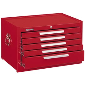 "Kennedy® 2805XR 29"" 5-Drawer Mechanics Chest w/ Ball Bearing Slides - Red"