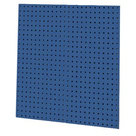 "Kennedy Manufacturing, 50002BL, 2-Panel Square Hole Toolboard Set 36""H x 18""W - Classic Blue"