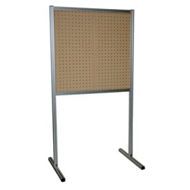 Kennedy Manufacturing 50067TX 2-Panel Double-Sided Toolboard Stand - Tan